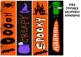 Variety of free printable kids coloring pages and bookmarks for children and preschoolers to color themselves and have fun, offered by printable halloween kids coloring pages. Printable Halloween Bookmarks And Other Treats For Trick Or Treaters Real And Quirky