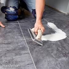groutable vinyl tile learn how to install