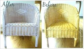 painting rattan furniture with chalk paint can
