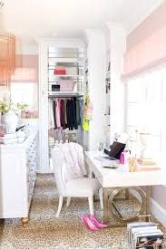 let your walk in closet double as a office turned