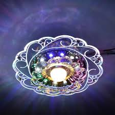 practical lighting. Practical-3W LED Crystal Lotus Ceiling Light Flush Lamp Main Warm Auxiliary Colorful Indoor Lighting Perfe Practical