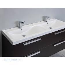 modern 57 inch wenge wall mounted bathroom vanity white double sink