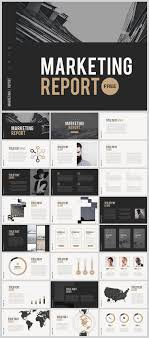 Powerpoint Theme Templates Free Marketing Report Free Powerpoint Download Free