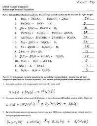 balancing equations chemistry worksheet davezan