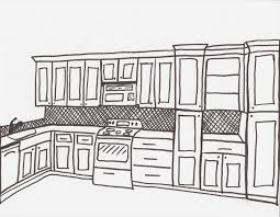simple kitchen drawing. kitchen design drawings and lighting perfected by the presence of joyful through a impressive pattern organization 44 - source simple drawing