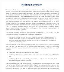 Meeting Templates Word Best 48 Meeting Summary Templates Download For Free Sample Templates