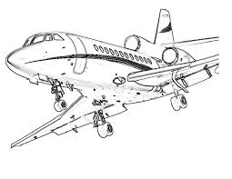 Download and print coloring page for your children. Free Printable Airplane Coloring Pages For Kids