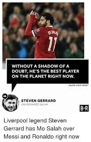 Best Sports Quotes Unique WITHOUT A SHADOW OF A DOUBT HE'S THE BEST PLAYER ON THE PLANET RIGHT