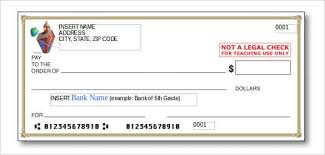 Blank Cheque Template Gorgeous 48 Blank Check Template DOC PSD PDF Vector Formats Free