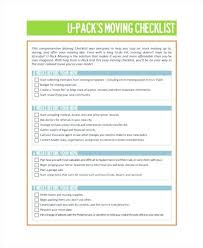 12 Moving Checklist Templates Sample Templates Threeroses Us