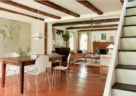 small open floor plan farmhouse into living room open floor plan allows small house house