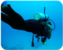 compressibility chemistry. figure 14.1.1: scuba diver. compressibility chemistry
