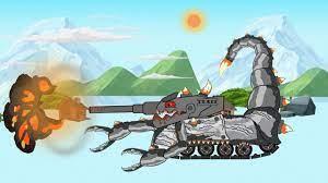xe tăng quái vật bọ cạp 👺👽🤖 , phim hoạt hình xe tăng - sự hình thành &  chiến đấu - YouTube