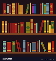 Image Industries Library Book Shelves Book Box Vector Image Vectorstock Library Book Shelves Book Box Royalty Free Vector Image