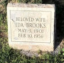 Ida Doyle Brooks (1901-1956) - Find A Grave Memorial