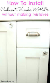 cabinet drawer pull size guide hardware placement terrific kitchen fabulous knob in from pulls place