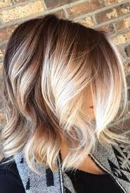 Balayage Cheveux Courts Blonds 20182019 Coiffures 2018