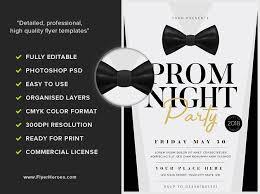 bow street flyers prom night v3 flyerheroes