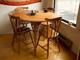 simple round kitchen dining tables