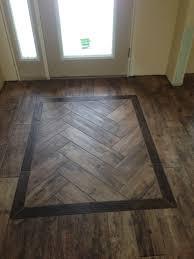 Hardwood And Tile Floor Designs Wood Tile Herringbone Pattern Ceramic Wood Tile Floor
