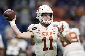 College football: Texas Sam Ehlinger ...