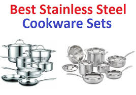 Calphalon Cookware Comparison Chart Top 15 Best Stainless Steel Cookware Sets In 2019