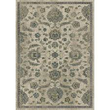 allen roth portsbury beige indoor oriental area rug common 8 x 10