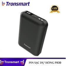Giá bán Pin Sạc Dự Phòng Mini Tronsmart PB10 cỡ Nhỏ 10000mAh Có Đèn LED Chỉ  Báo Dùng Cho Điện Thoại Máy Tính Bảng