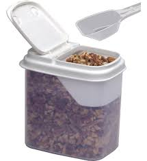 Dry Food Storage Container - Small Image in Plastic Containers