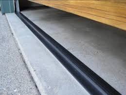 image of garage door weather seal stripping color