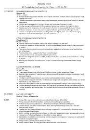 Environmental Engineer Resume Sample Environmental Engineer Resume Samples Velvet Jobs 1