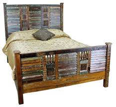 Romantic Rustic Bedroom Mexicali Rustic Wood Bed Set Furniture Rustic Wood Wood Beds