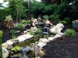 wanted backyard waterfall ideas and pond plans kits diy lentiacontatto