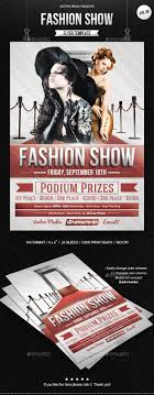 17 best ideas about advertising flyers photography fashion show flyer vol 06
