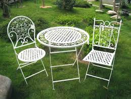 white metal patio chairs. Metal Outdoor Table And Chairs White Patio Garden Folding T