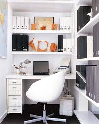 office storage solution. Marvellous Smart Space For Home Office Design : White Themed Modern Thoughtful Storage Solution S