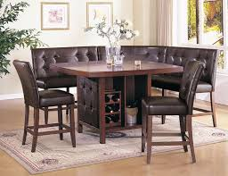 Dining Room Table Sets Leather Chairs Collection New Inspiration Ideas