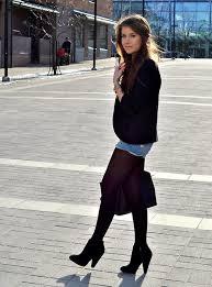 Pics women pantyhose jeans