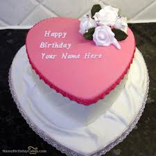 100 Beautiful Birthday Cake For Girls With Name