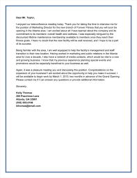 Gallery Of Doc 495640 Thank You Letter After Interview Free