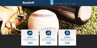 Baseball Websites Templates 11 Baseball Website Themes Templates Free Premium Templates