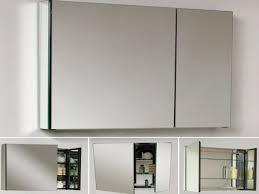Bathroom: Recessed Medicine Cabinet Without Mirror | 3 Door ...