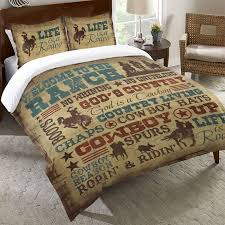 western bedding queen size cowboy lifestyle duvet cover lone star western decor