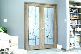 decorative interior glass doors door with s window tinting double entry french patio exterior stain inserts