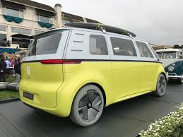 2018 volkswagen bus. contemporary bus volkswagen id buzz at pebble inside 2018 volkswagen bus 0