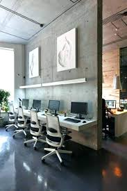 industrial style office. Industrial Chic Office Decor Surprising Style A