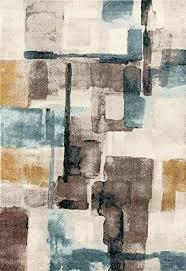 multi distressed contemporary area rugs 5x8