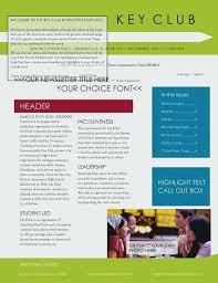 Car Club Newsletter Templates Free Elegant Template Ecosolidario Co