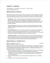 Mba Resume Template Career Objective Examples For Marketing Job And