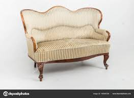 sofas settees old fashioned bench stock photo